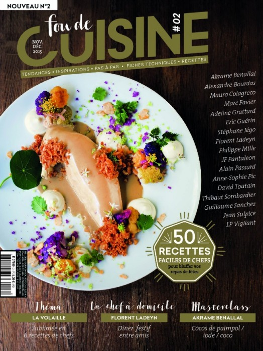 le magazine fou de cuisine rajeunit la presse gastronomique publicit. Black Bedroom Furniture Sets. Home Design Ideas