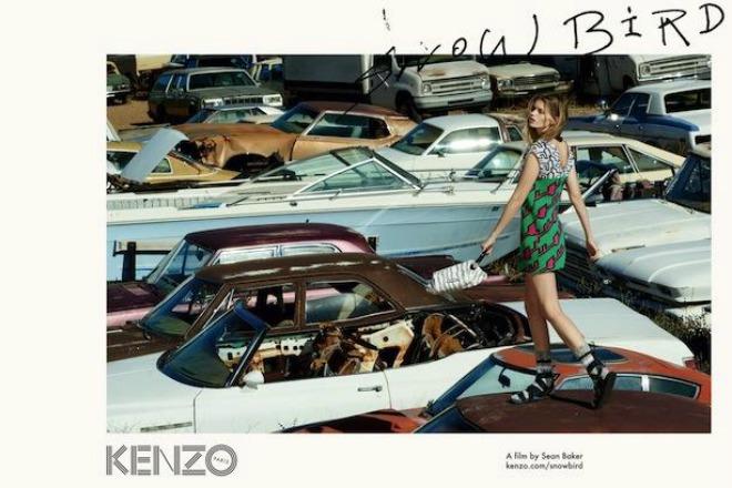 """Kenzo dévoile son fashion film tourné par le réalisateur de """"Tangerine"""""""