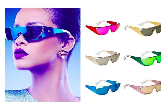 98856b58023682 Rihanna x Dior   une collection de solaires dévoilée