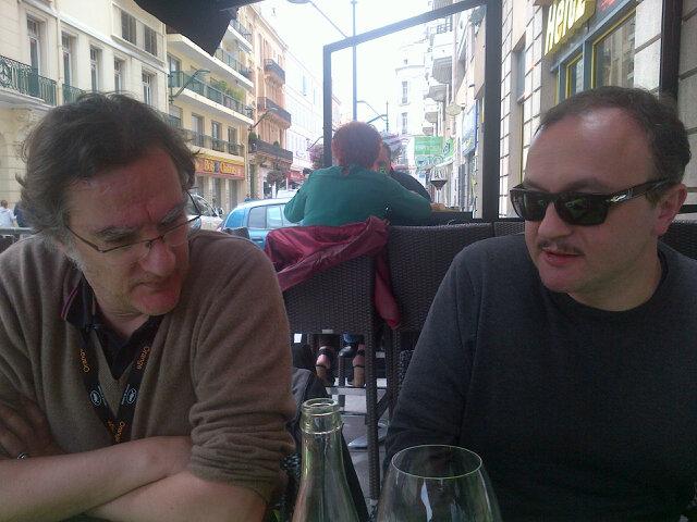 Déjeuner débat avec Serge K et JB Morain