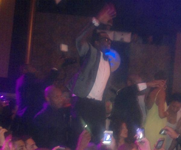 P. Diddy en vrai au Gotha Club